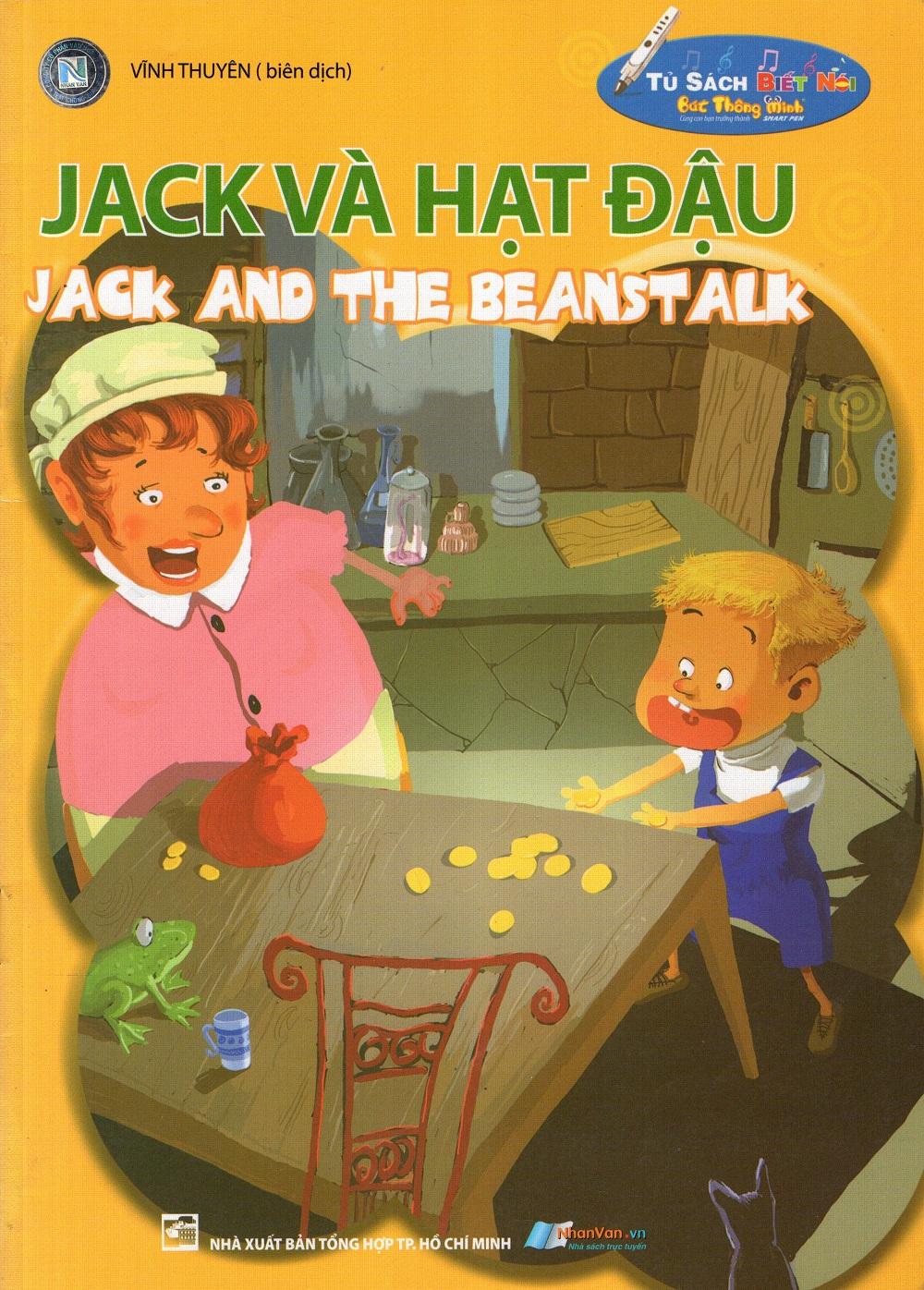 Bìa sách Tủ Sách Biết Nói: Jack Và Hạt Đậu