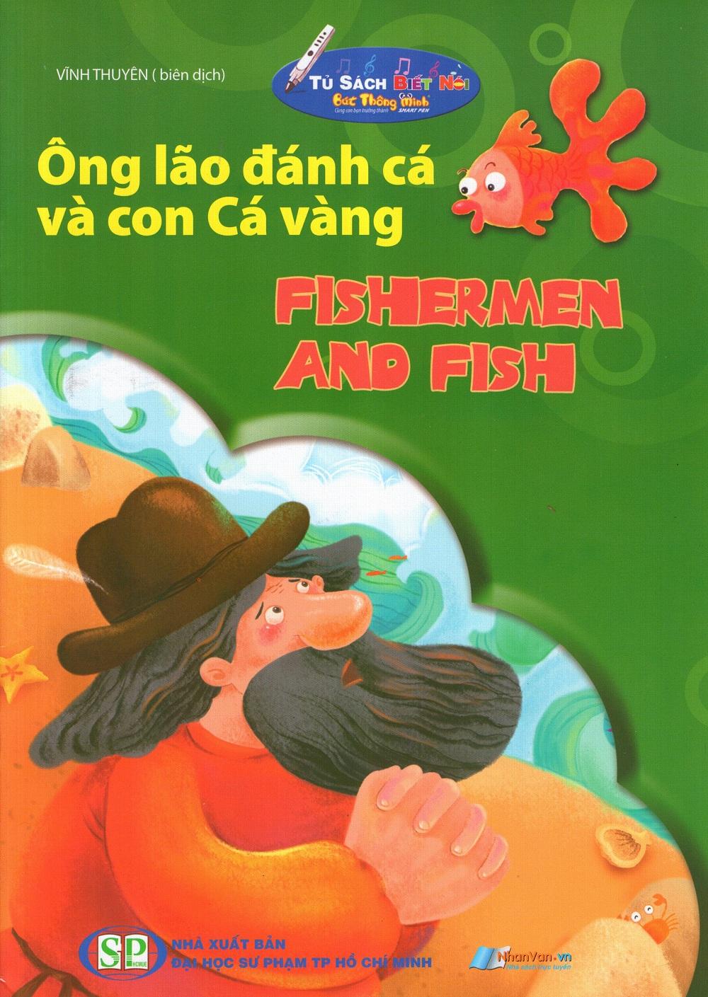 Bìa sách Tủ Sách Biết Nói: Ông Lão Đánh Cá Và Con Cá Vàng