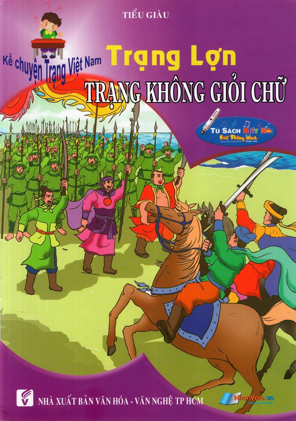 Bìa sách Kể Chuyện Trạng Việt Nam: Trạng Lợn - Trạng Không Giỏi Chữ