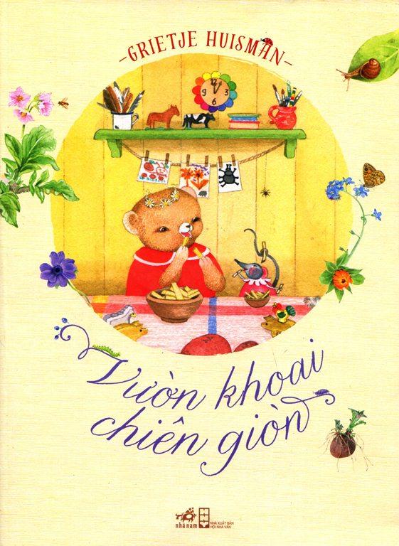 Bìa sách Vườn Khoai Chiên Giòn