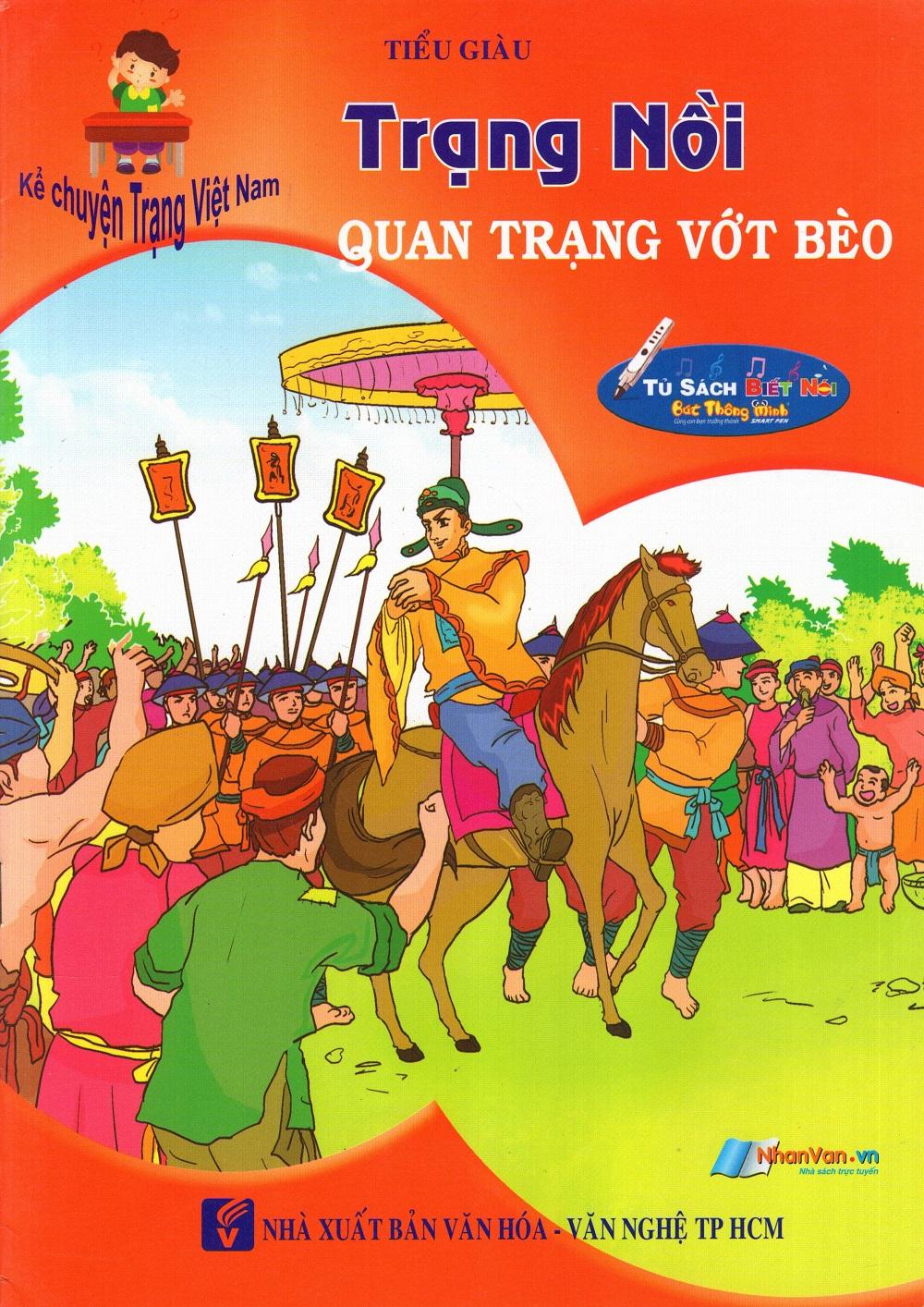 Bìa sách Kể Chuyện Trạng Việt Nam: Trạng Nồi - Quan Trạng Vớt Bèo