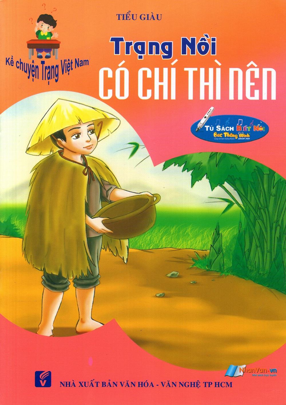 Bìa sách Kể Chuyện Trạng Việt Nam: Trạng Nồi - Có Chí Thì Nên