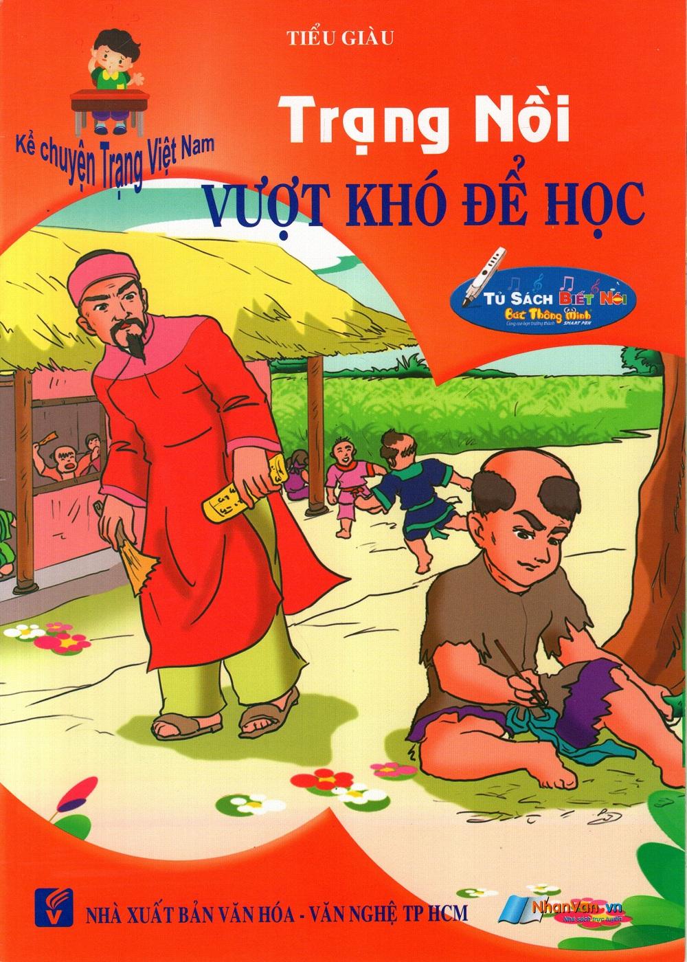 Bìa sách Kể Chuyện Trạng Việt Nam: Trạng Nồi - Vượt Khó Để Học