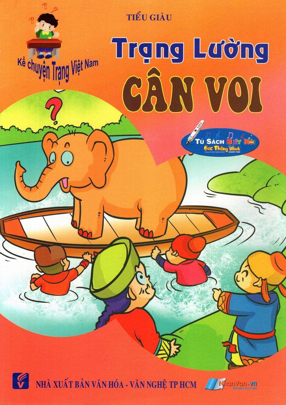 Bìa sách Kể Chuyện Trạng Việt Nam: Trạng Lường - Cân Voi