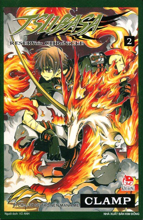 Bìa sách Tsubasa (Tập 2)
