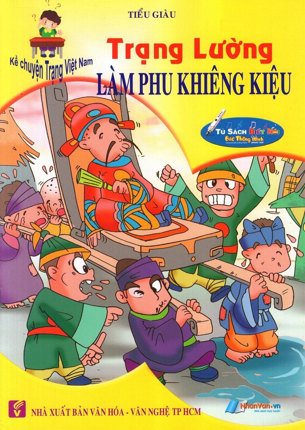 Bìa sách Kể Chuyện Trạng Việt Nam: Trạng Lường - Làm Phu Khiêng Kiệu