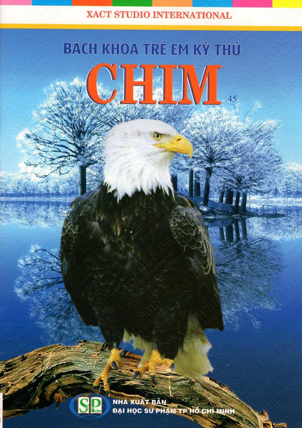 Bìa sách Bách Khoa Trẻ Em Kỳ Thú - Chim (45)