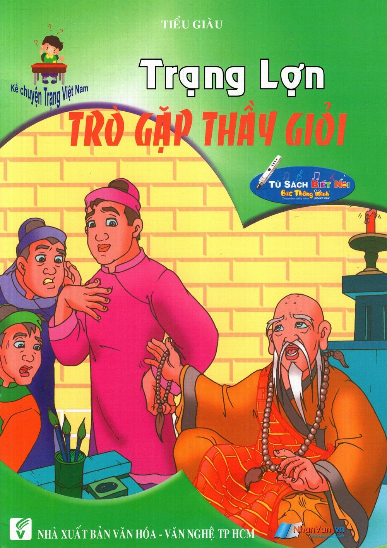 Bìa sách Kể Chuyện Trạng Việt Nam: Trạng Lợn - Trò Gặp Thầy Giỏi