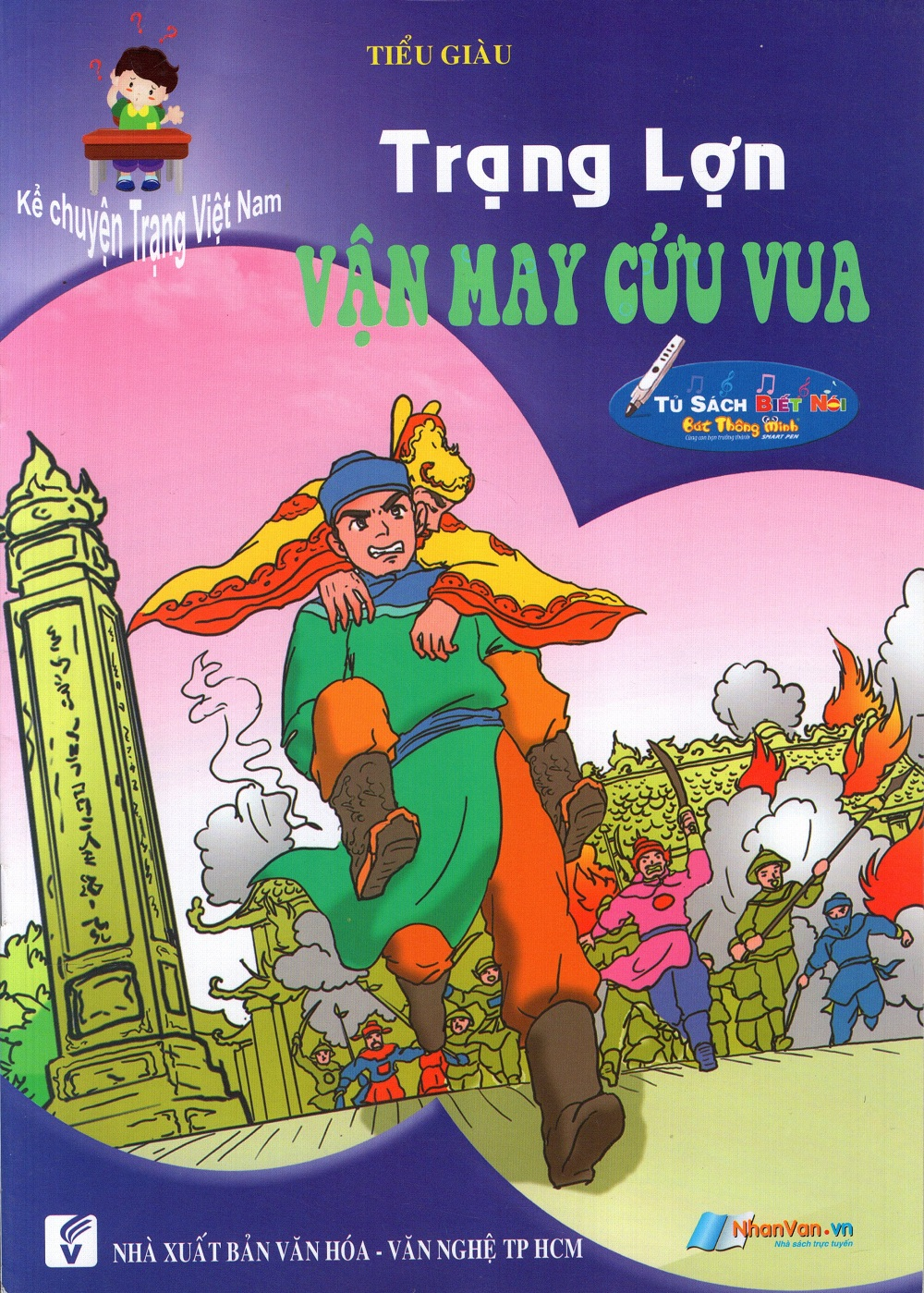Bìa sách Kể Chuyện Trạng Việt Nam: Trạng Lợn - Vận May Cứu Chúa