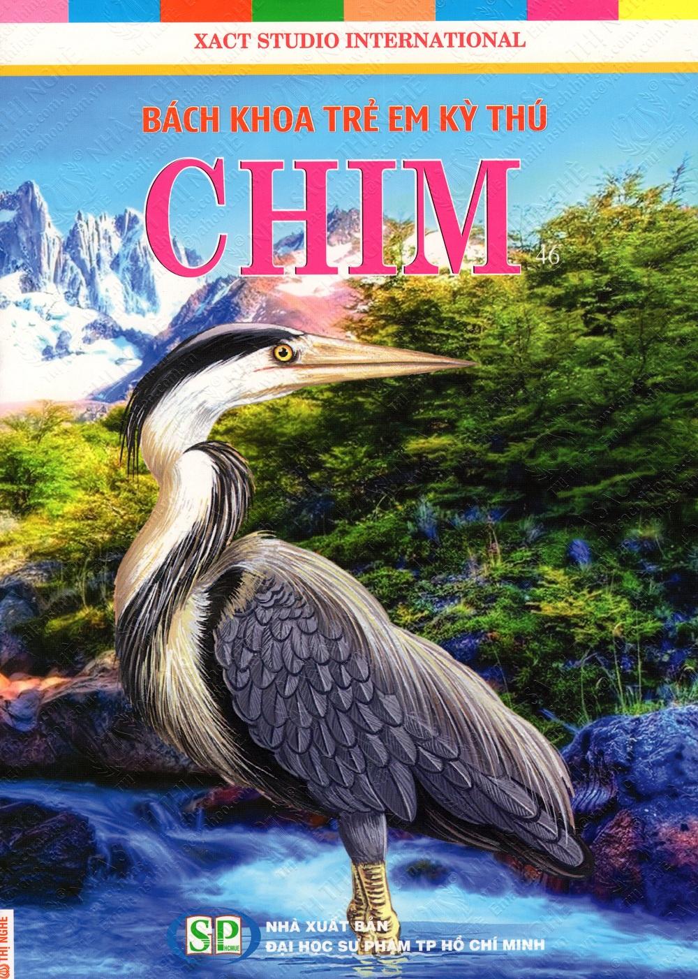 Bìa sách Bách Khoa Trẻ Em Kỳ Thú - Chim (46)
