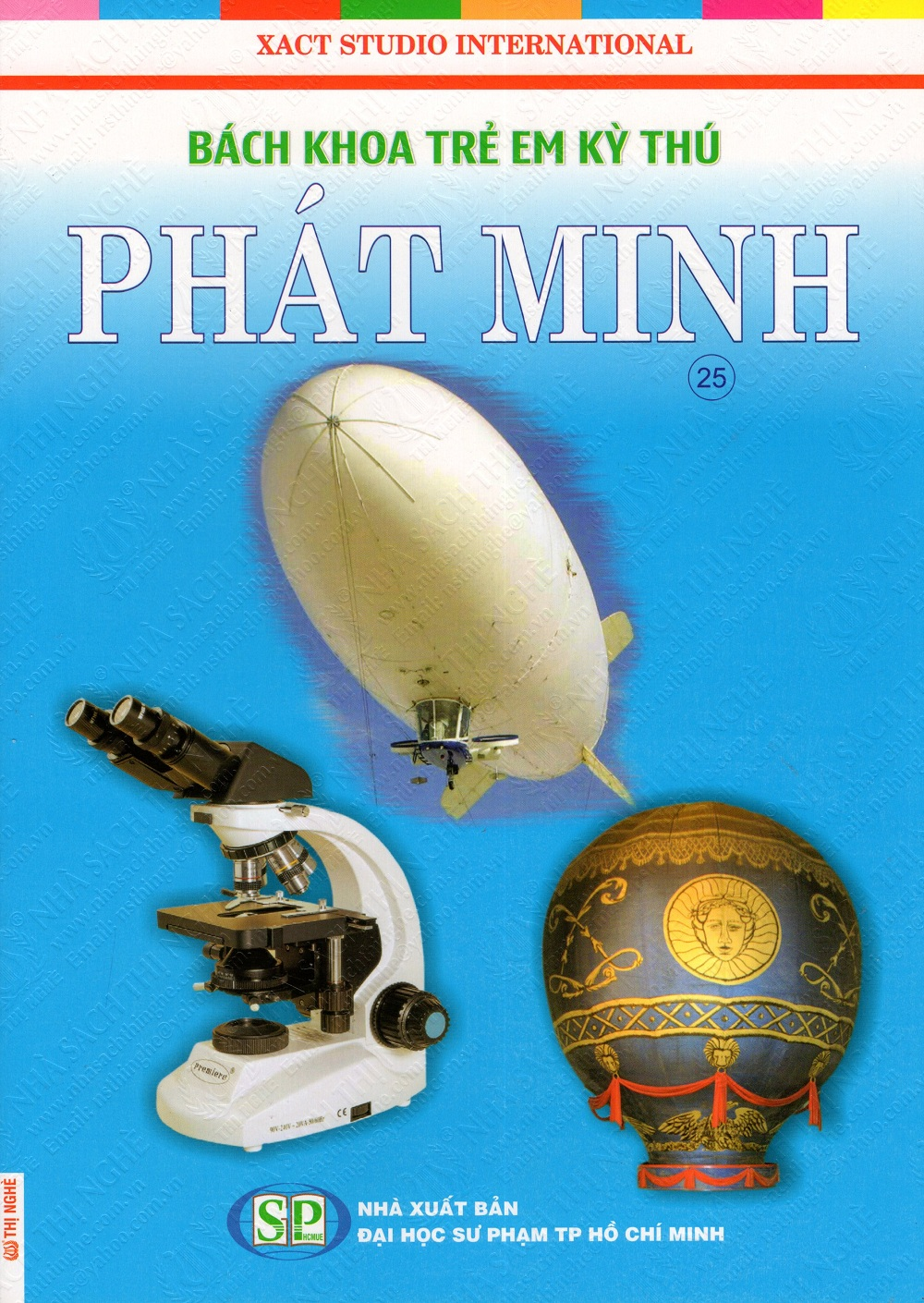 Bìa sách Bách Khoa Trẻ Em Kỳ Thú - Phát Minh (25)