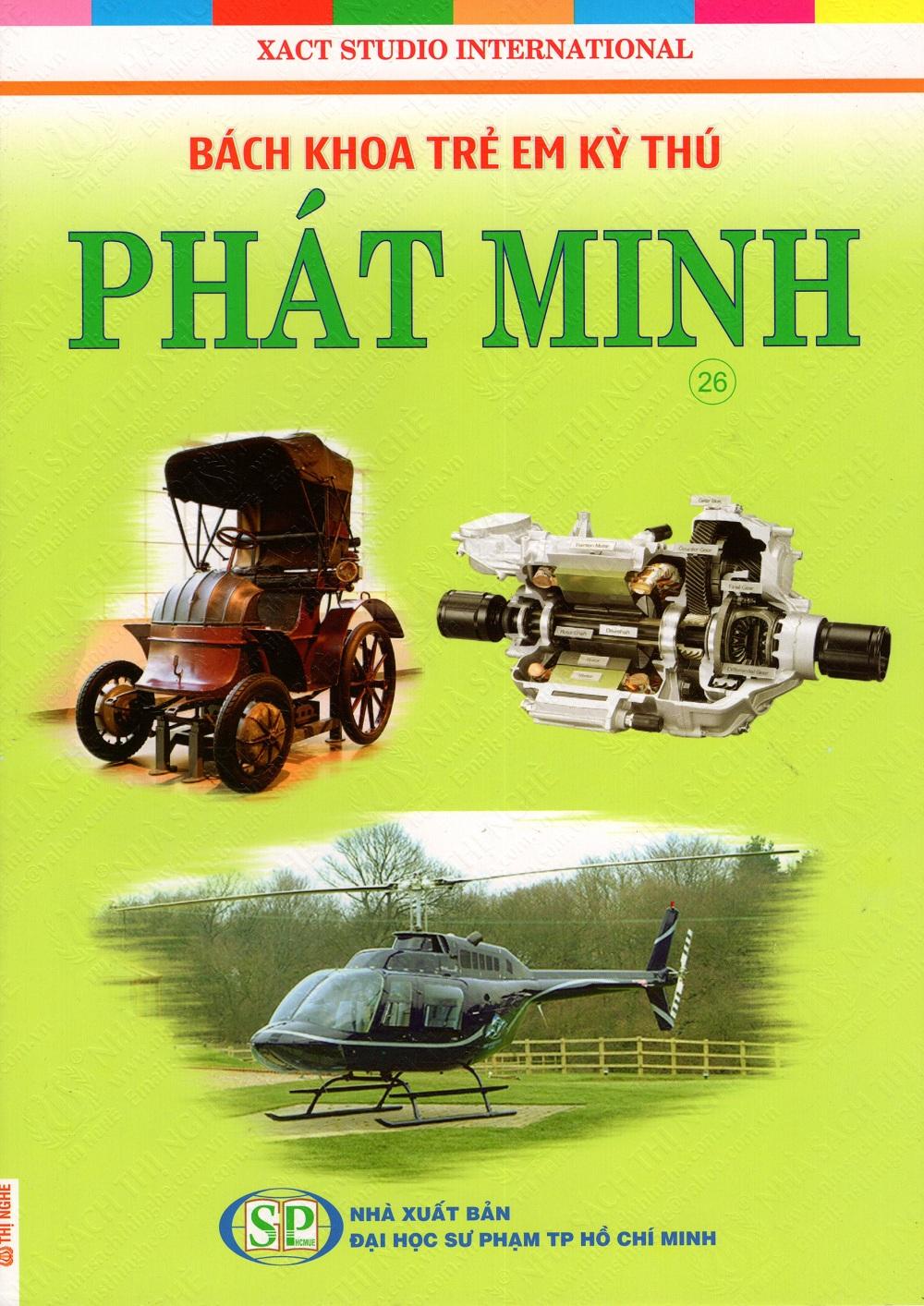 Bìa sách Bách Khoa Trẻ Em Kỳ Thú - Phát Minh (26)
