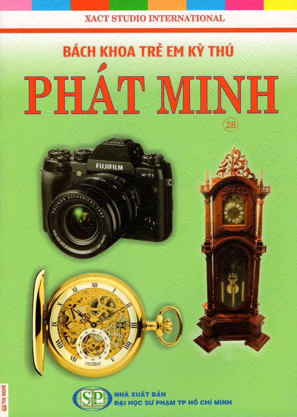 Bìa sách Bách Khoa Trẻ Em Kỳ Thú - Phát Minh (28)