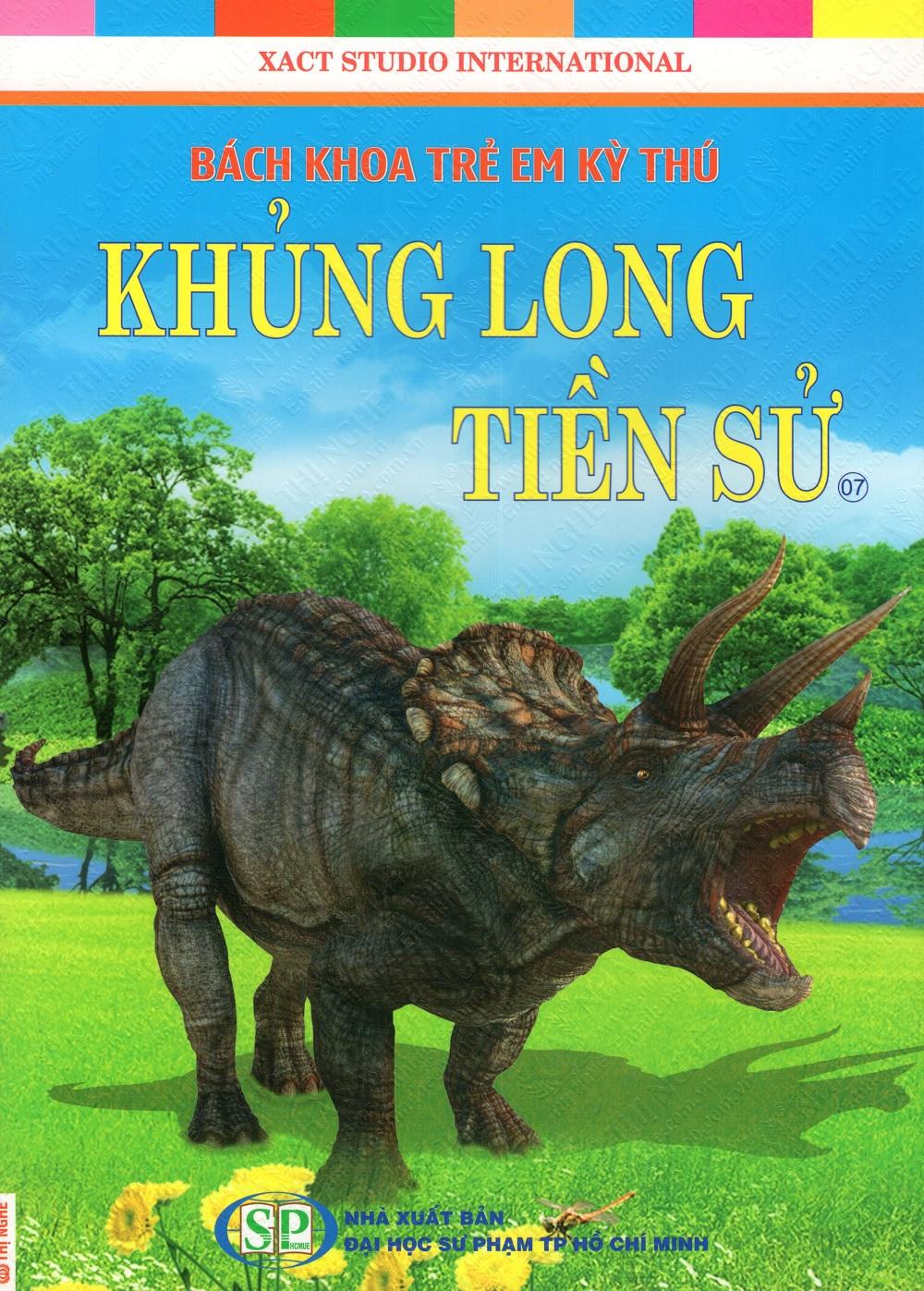 Bìa sách Bách Khoa Trẻ Em Kỳ Thú - Khủng Long Tiền Sử (07)