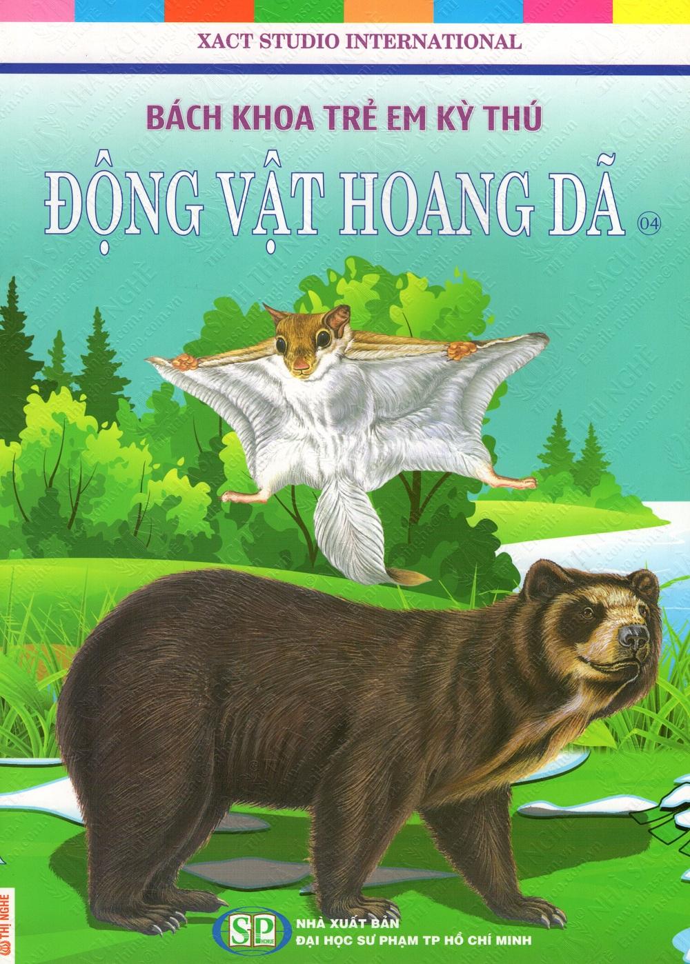 Bìa sách Bách Khoa Trẻ Em Kỳ Thú - Động Vật Hoang Dã (04)