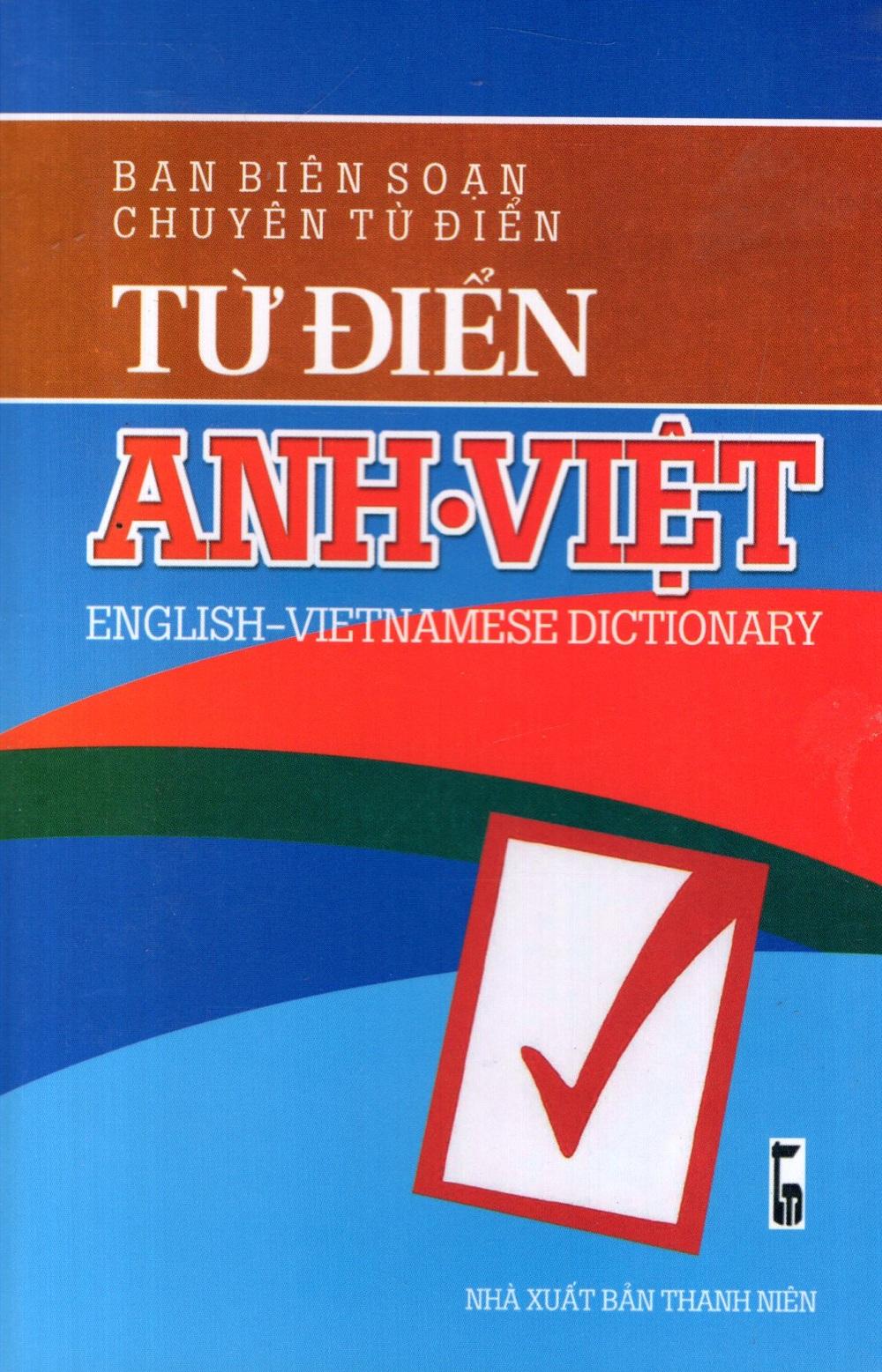 Bìa sách Từ Điển Anh - Việt (Khoảng 50.000 Từ) - Sách Bỏ Túi