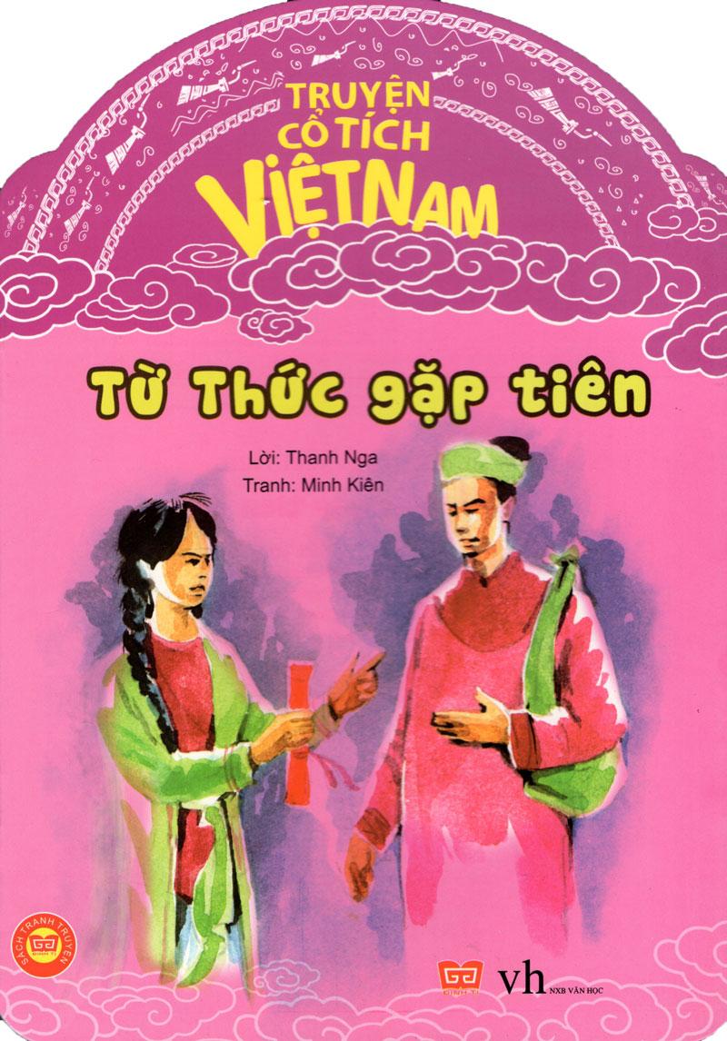 Bìa sách Truyện Cổ Tích Việt Nam - Từ Thức Gặp Tiên