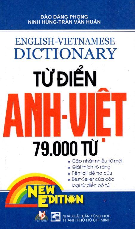 Bìa sách Từ Điển Anh - Việt 79.000 Từ (Tái Bản)