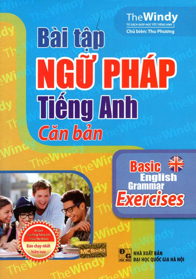 Bìa sách Bài Tập Ngữ Pháp Tiếng Anh Căn Bản