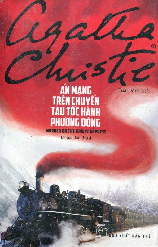 Bìa sách Án Mạng Trên Chuyến Tàu Tốc Hành Phương Đông