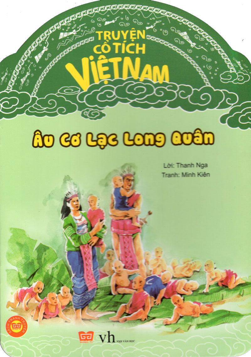 Bìa sách Truyện Cổ Tích Việt Nam - Âu Cơ Lạc Long Quân