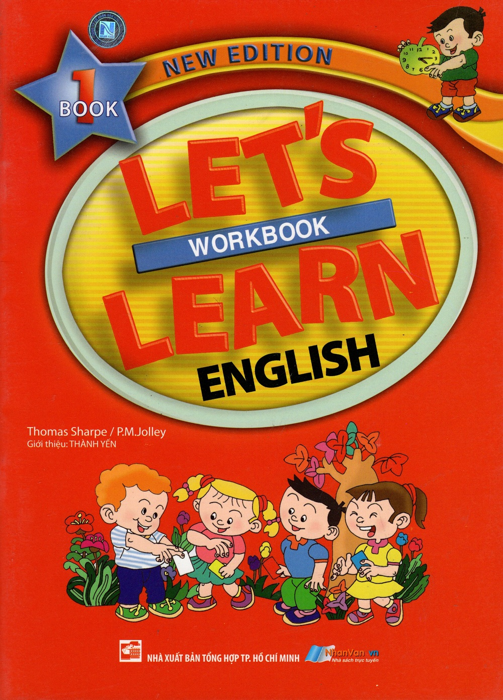 Bìa sách Lets Learn English - Workbook 1 (New Edition)