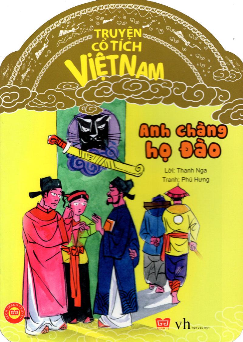 Bìa sách Truyện Cổ Tích Việt Nam - Anh Chàng Họ Đào