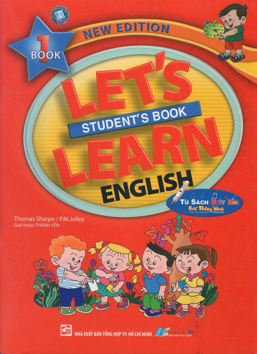 Bìa sách Lets Learn English - Students Book 1 (New Edition)