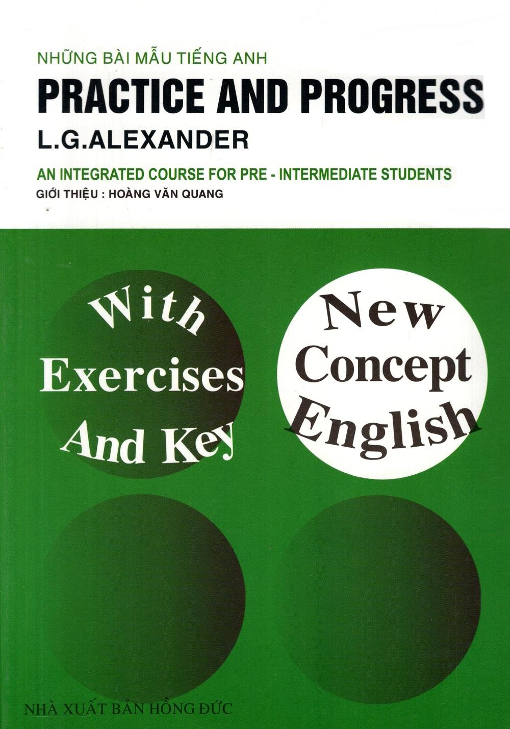 Bìa sách Những Bài Mẫu Tiếng Anh: Practice And Progress