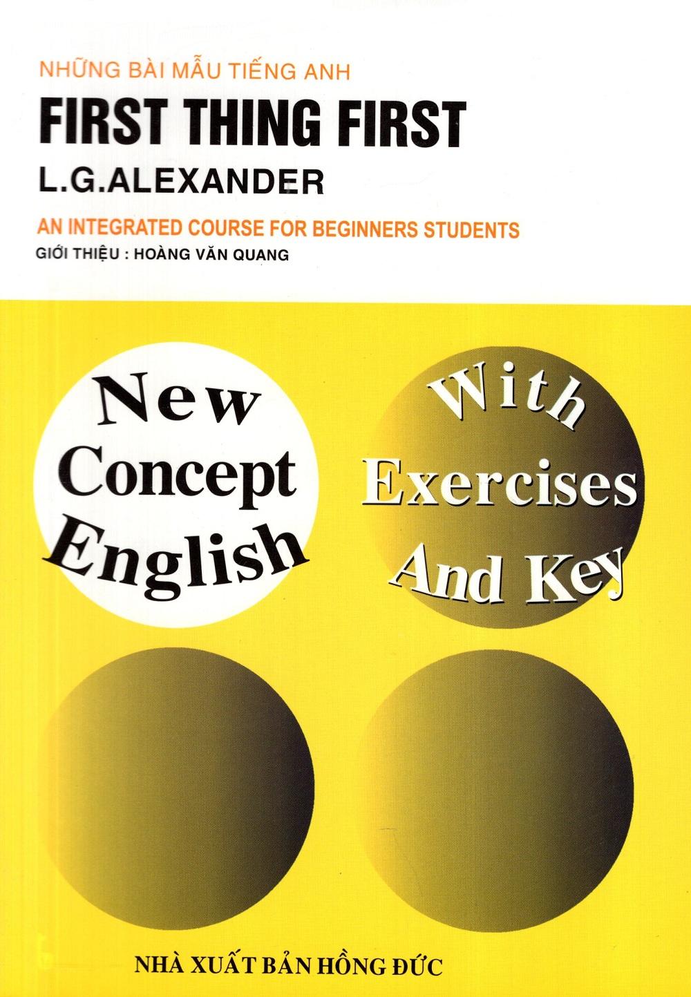 Bìa sách Những Bài Mẫu Tiếng Anh: First Thing First