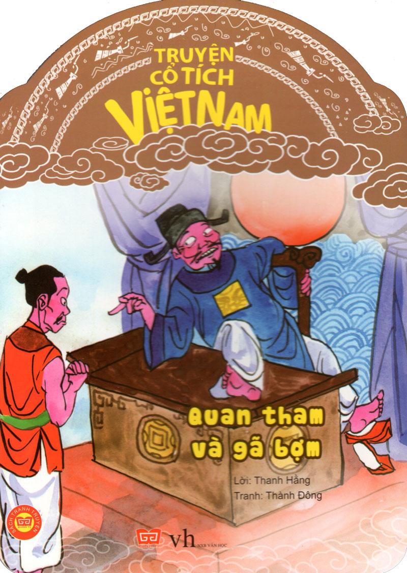 Bìa sách Truyện Cổ Tích Việt Nam - Quan Tham Và Gã Bợm