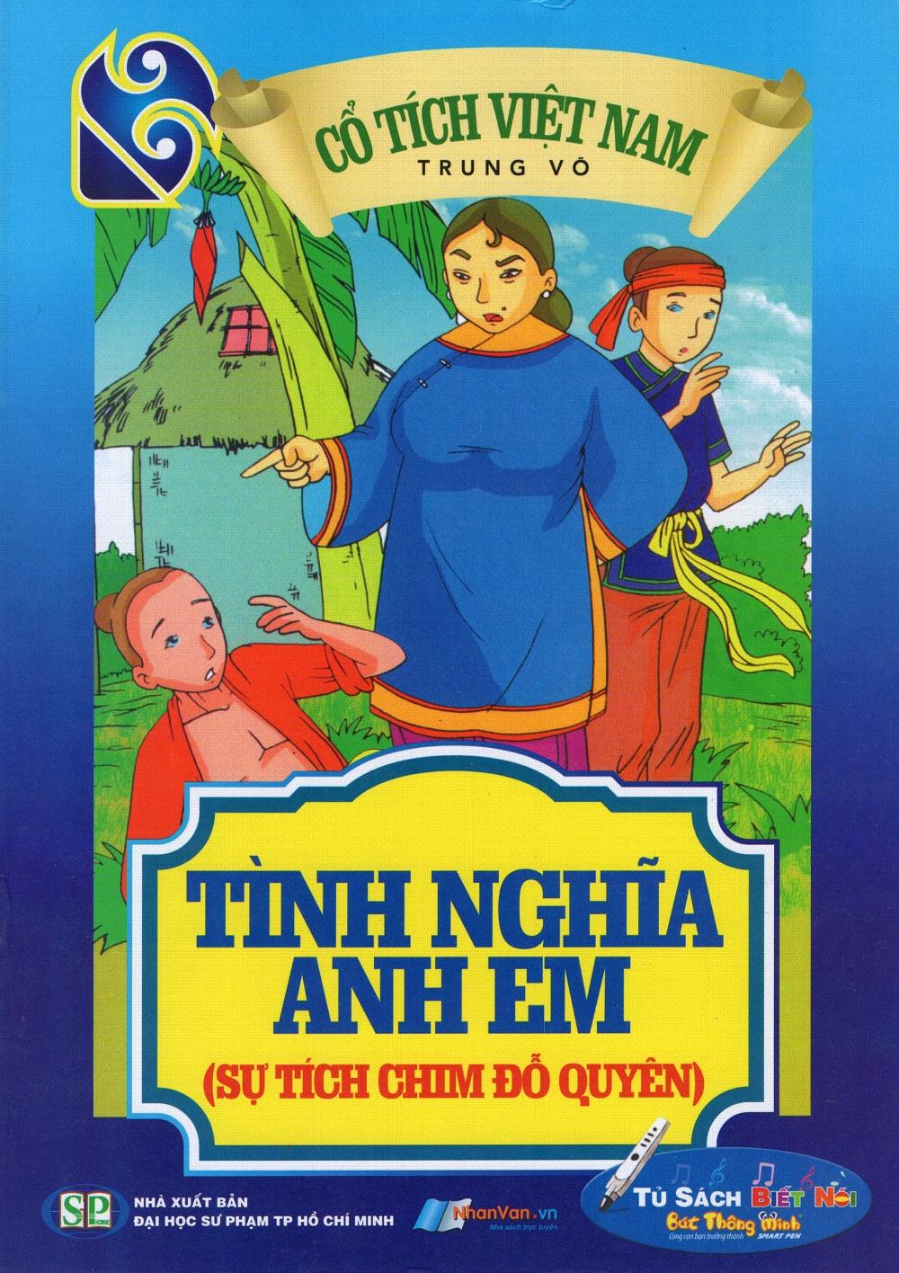 Bìa sách Cổ Tích Việt Nam - Tình Nghĩa Anh Em (Sự Tích Chim Đỗ Quyên)