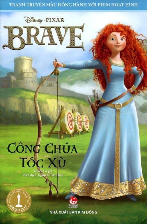 Bìa sách Brave - Công Chúa Tóc Xù