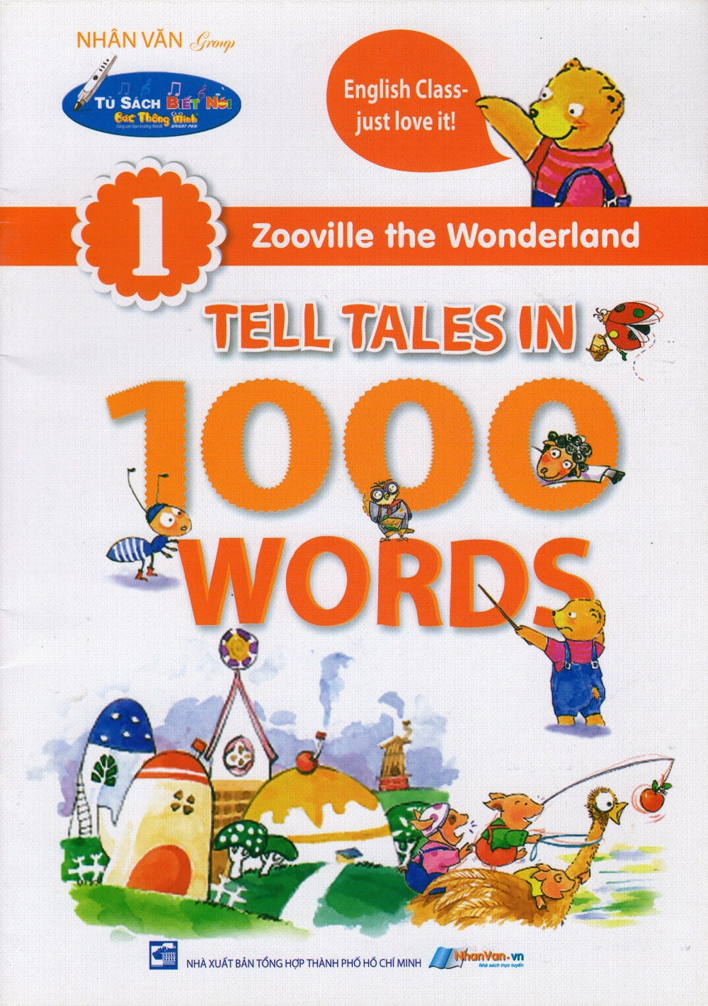Bìa sách Zooville The Wonderland - Tell Tales In 1000 Words (Tập 1)