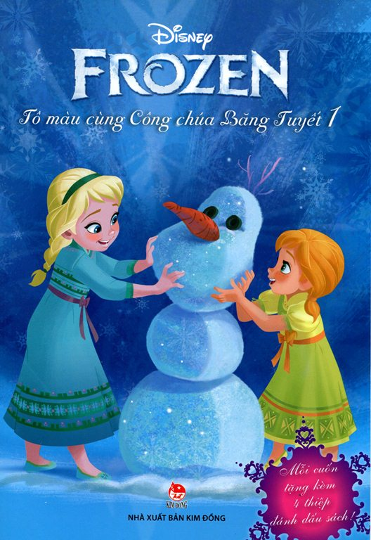 Review sách Frozen – Tô Màu Cùng Công Chúa Băng Tuyết (Tập 1)
