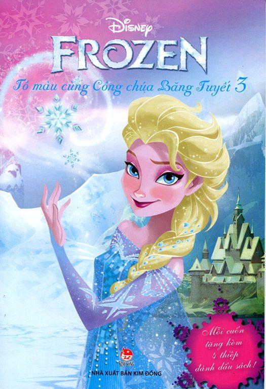 Review sách Frozen – Tô Màu Cùng Công Chúa Băng Tuyết (Tập 3)