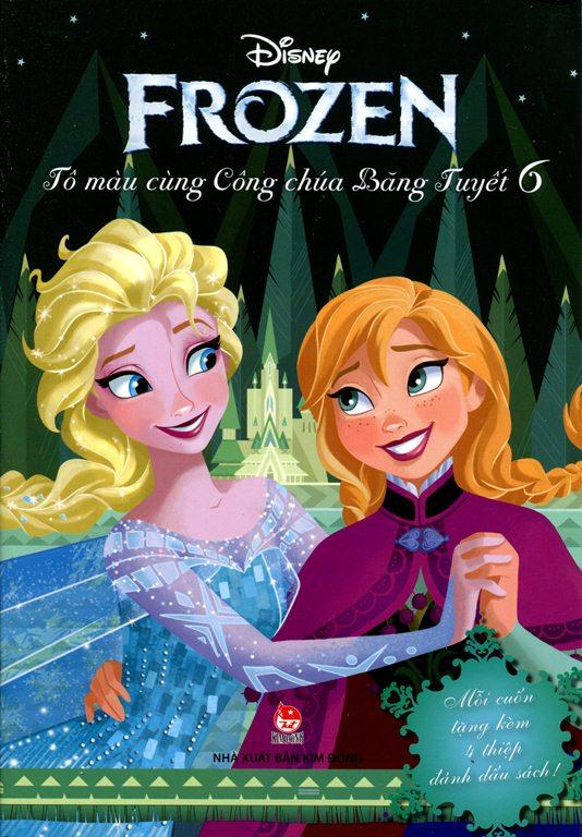 Review sách Frozen – Tô Màu Cùng Công Chúa Băng Tuyết (Tập 6)