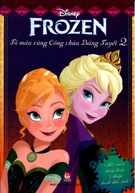 Review sách Frozen – Tô Màu Cùng Công Chúa Băng Tuyết (Tập 2)
