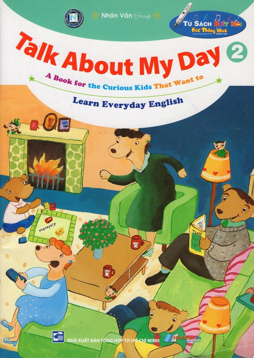 Bìa sách Talk About My Day (Tập 2)