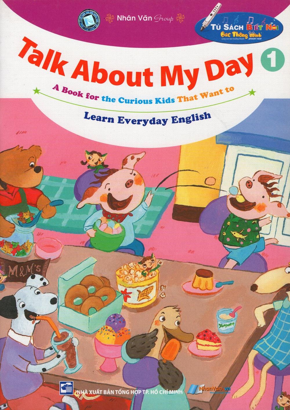 Bìa sách Talk About My Day (Tập 1)