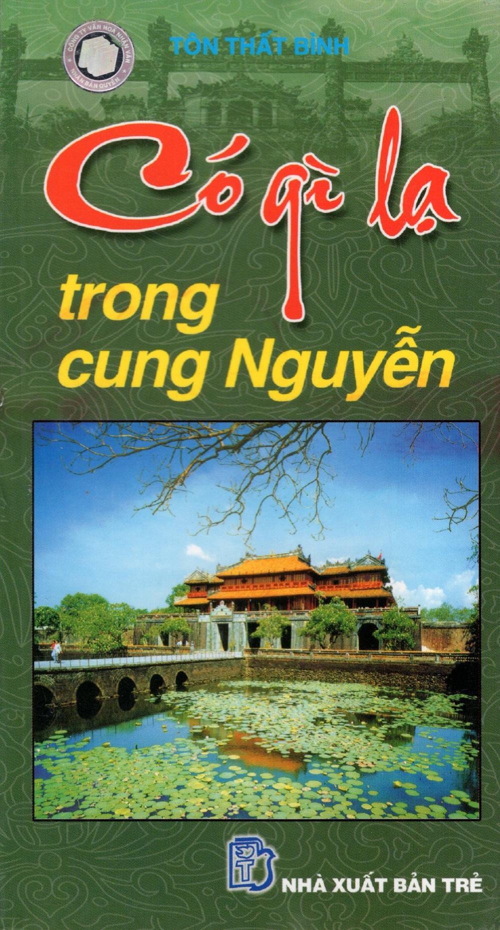 Bìa sách Có Gì Lạ Trong Cung Nguyễn (Sách Song Ngữ)