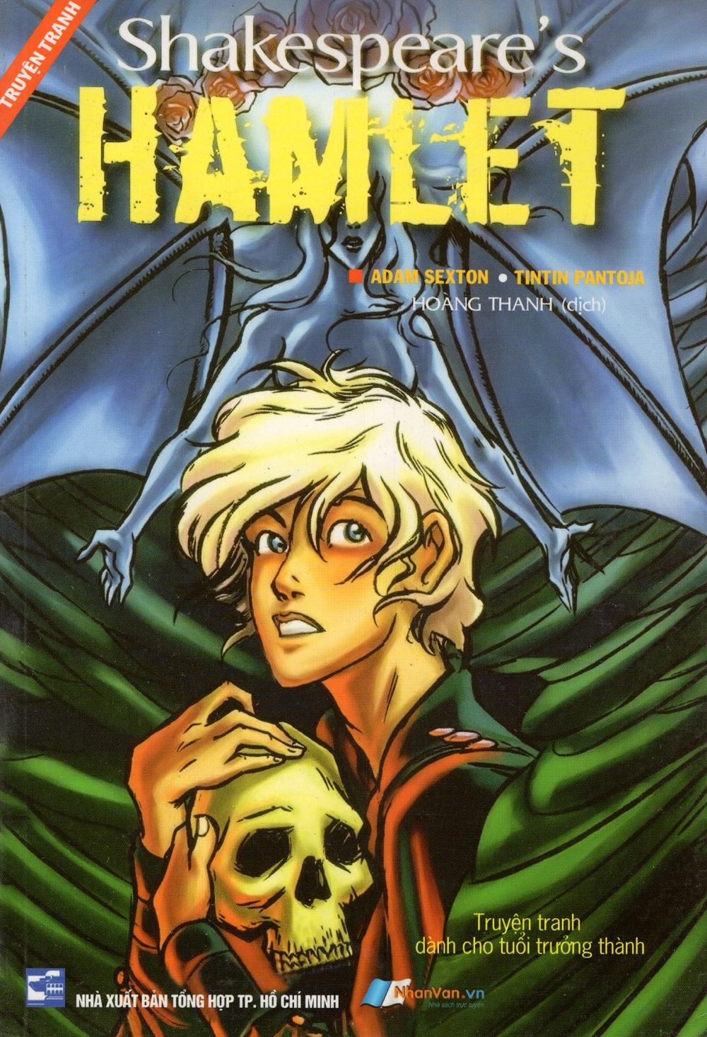 Bìa sách Hamlet (Truyện Tranh)