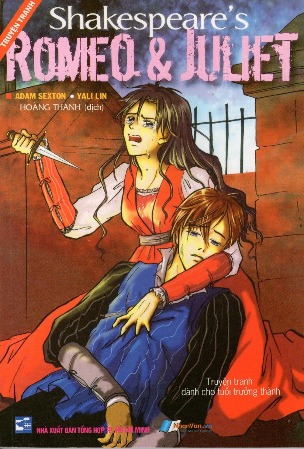 Bìa sách Romeo  Juliet (Truyện Tranh)