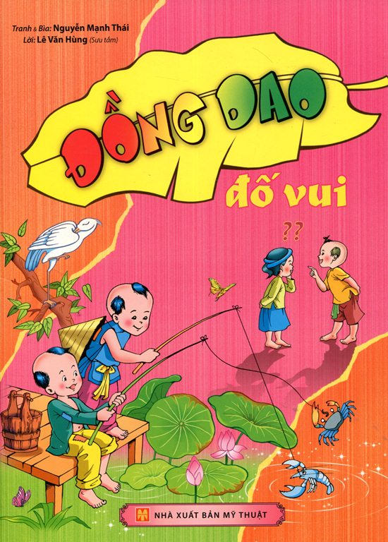 Review sách Đồng Dao Đố Vui