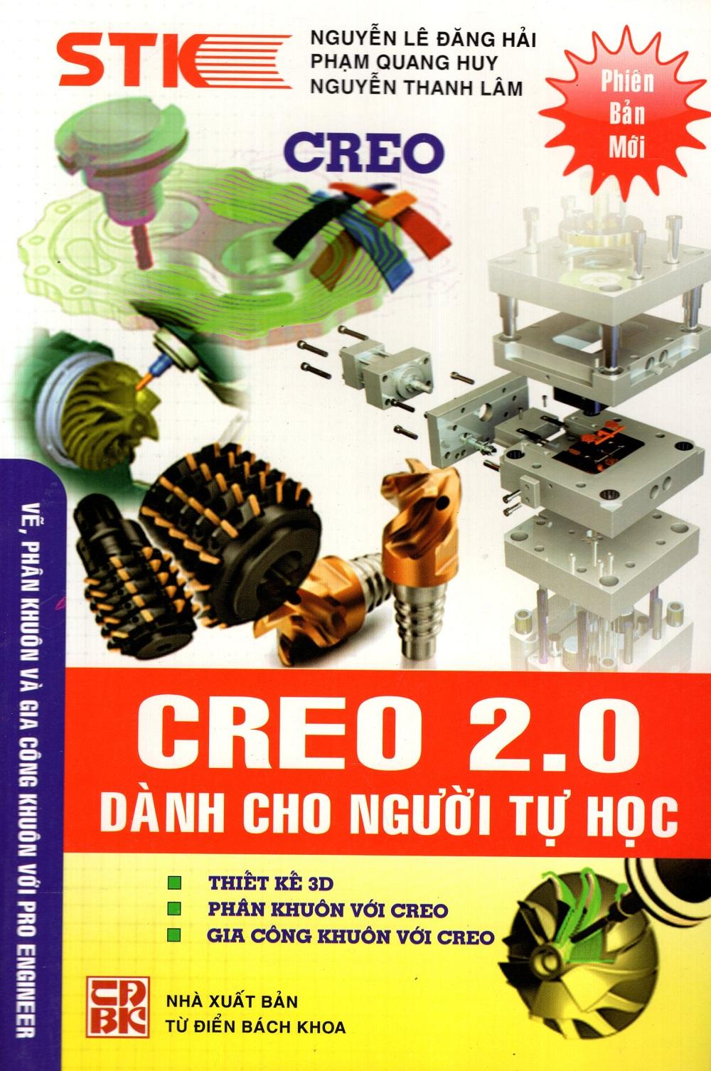 Bìa sách Creo 2.0 Dành Cho Người Tự Học