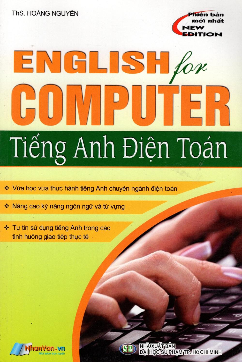 Bìa sách Tiếng Anh Điện Toán (New Edition)