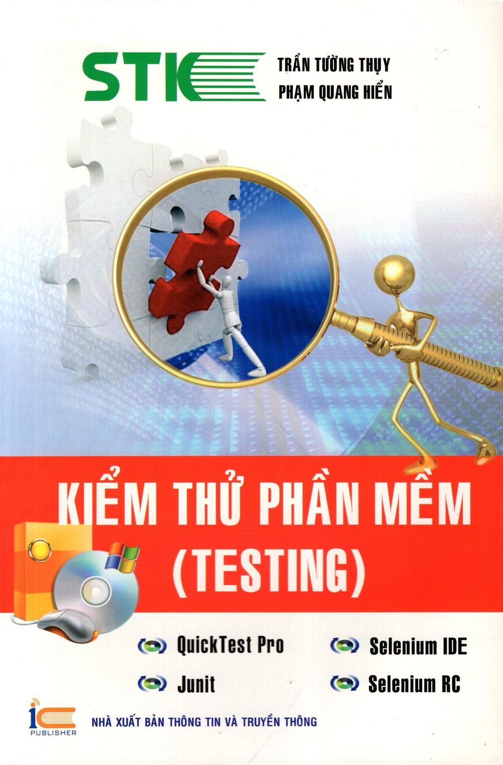 Bìa sách Kiểm Thử Phần Mềm (Testing)