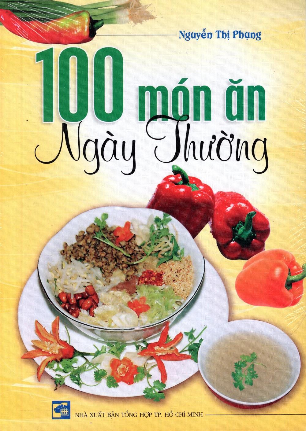 Bìa sách 100 Món Ăn Ngày Thường (Xuân Hương)
