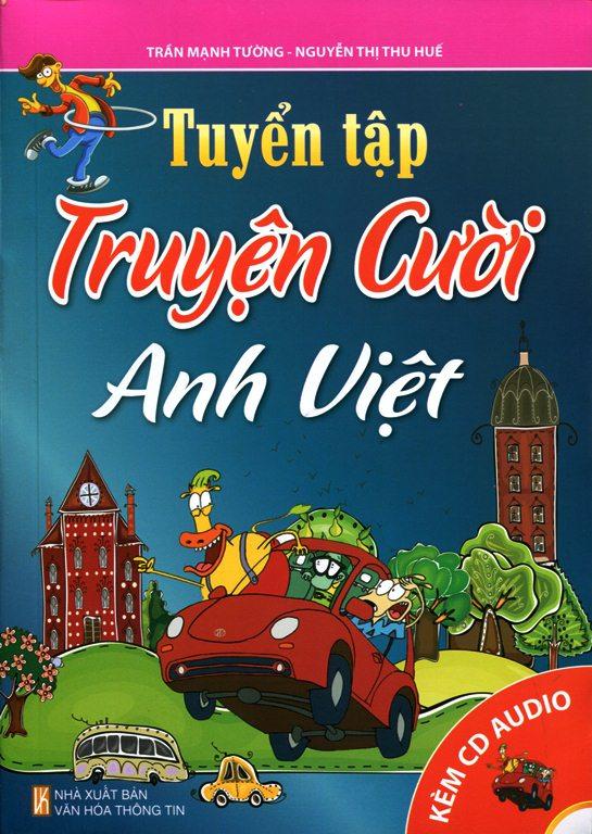 Bìa sách Tuyển Tập Truyện Cười Anh Việt (Kèm CD)