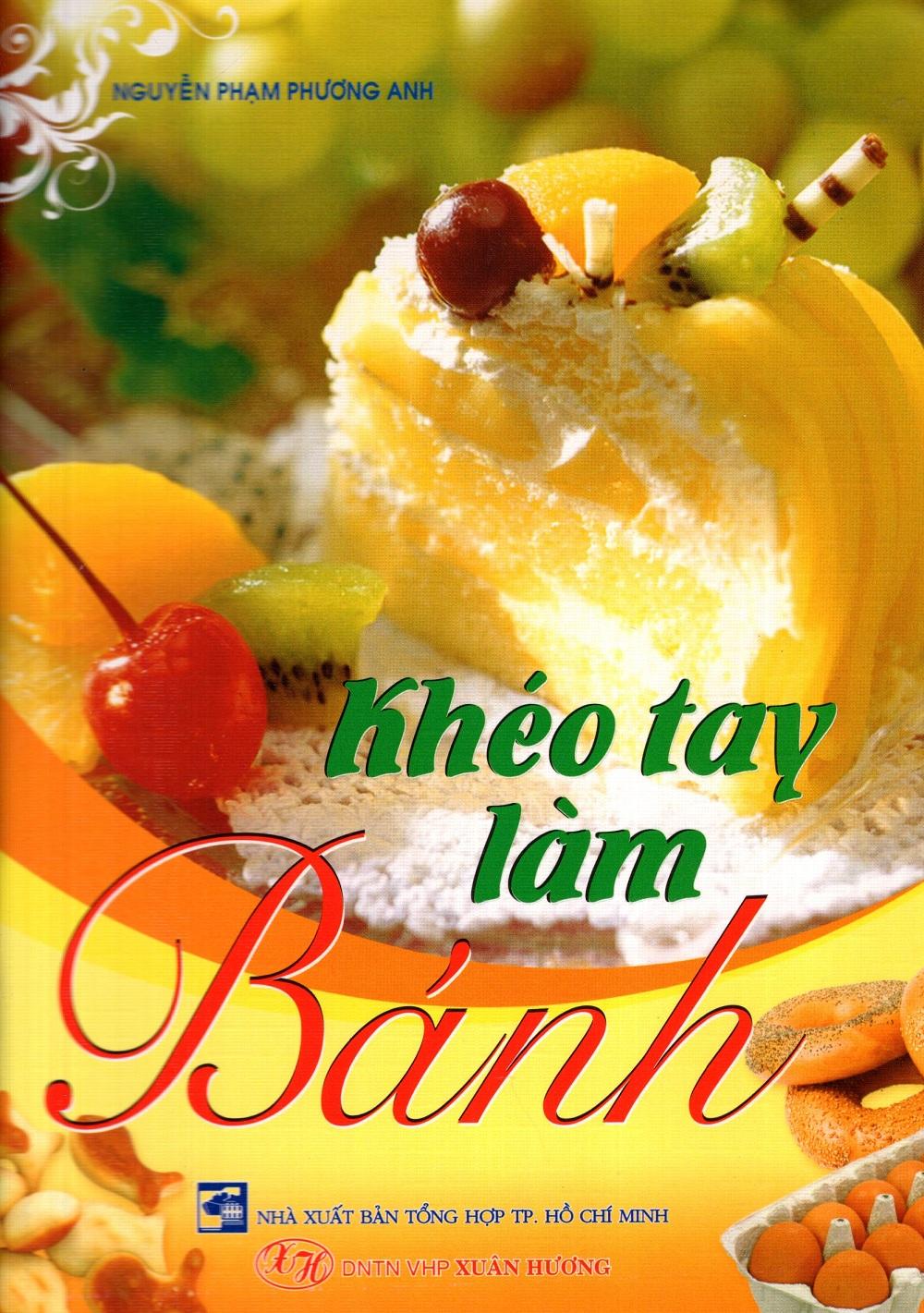 Bìa sách Khéo Tay Làm Bánh (Xuân Hương)